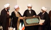 تصاویر/ مراسم تکریم و معارفه مدیرکل تبلیغات اسلامی استان قم