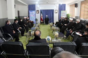 تصاویر/ نشست ستاد ساماندهی شئون فرهنگی در مناسبت های مذهبی خراسان شمالی