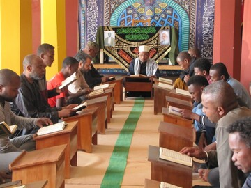 برگزاری مراسم بزرگداشت آیتالله مصباح یزدی در ماداگاسکار