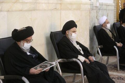 تصاویر / مراسم هفتمین شب درگذشت آیت الله مصباح یزدی