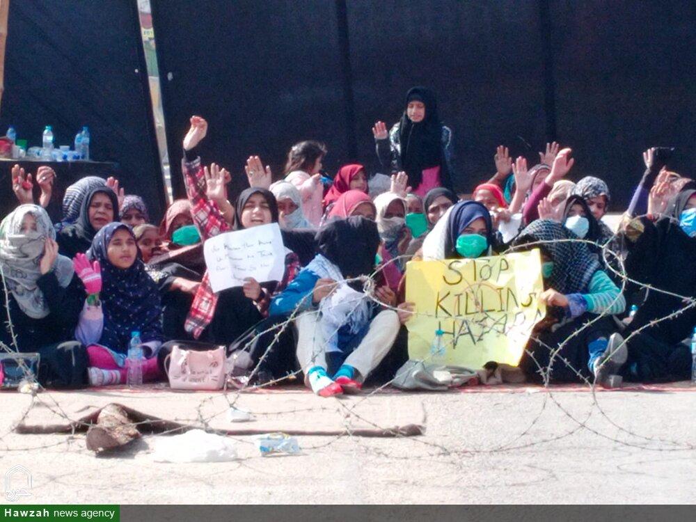تصاویر/ حیدرآباد سندھ میں دو روزہ دھرنا، شہدائے مچھ کے اور انکے تمام لواحقین سے ہمدردی کا کیا اظہار