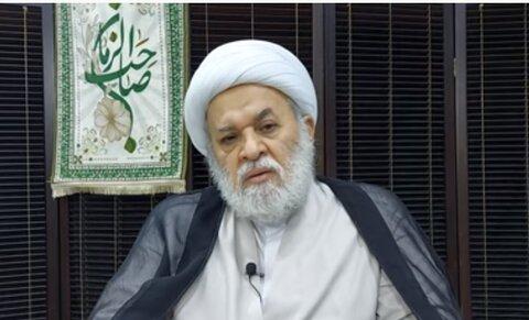 شیخ جلال الدین صغیر عضو ارشد مجلس اعلای اسلامی عراق