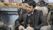 فیلم | شعرخوانی در وصف شهید فخری زاده توسط برادرش