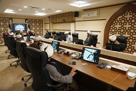تصاویر/ اجلاسیه کمیسیون آموزش باحضور اساتید محترم مدارس علمیه قم