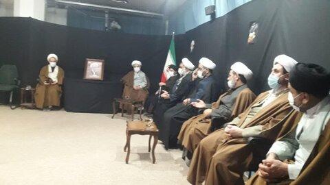 دیدار فرمانده تیپ امام صادق با حجت الاسلام رجبی