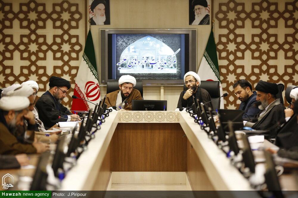 تصاویر/ اولین نشست کمیسیون آموزش اجلاسیه اساتید حوزه علمیه قم