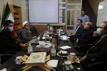 رئیس مرکز تحقیقات اسلامی مجلس از موسسه صراط مبین بازدید کرد