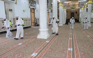 مسجد النور در قاهره پس از دو هفته بازگشایی شد