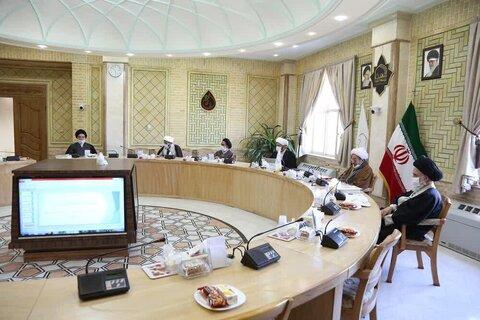 بالصور/ مراسيم انطلاق فعاليات مجلس التخطيط للحوزات العلمية النسوية بقم المقدسة