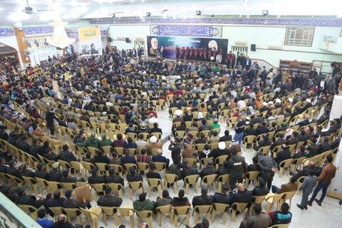مراسم بزرگداشت شهیدان سلیمانی و المهندس در نجف اشرف