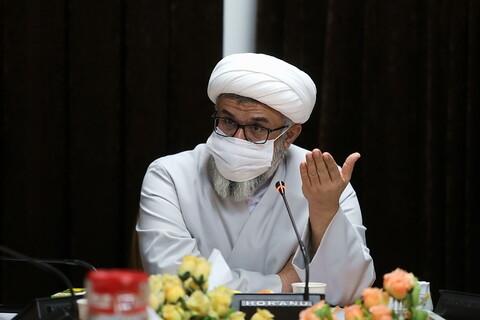 تصاویر/ اولین نشست کمیسیون پژوهشی اجلاسیه اساتید حوزه علمیه قم
