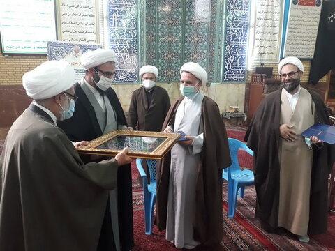 تودیع و معارفه مسئول مدرسه علمیه باقرالعلوم(ع)تهران