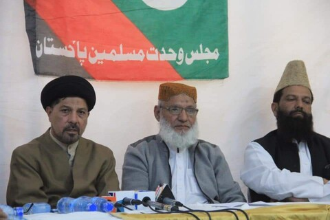 ملی یکجہتی کونسل سندھ کے وفد کی ایم ڈبلیو ایم رہنماؤں سے ملاقات