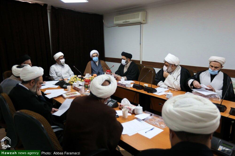 تصاویر/ اولین نشست کمیسیون پژوهش اجلاسیه اساتید حوزه علمیه قم