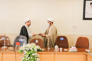 پنج مسئول آموزش فعال مدارس علمیه اصفهان  تجلیل شدند +عکس
