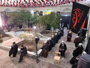 تصاویر/ مراسم بزرگداشت مرحوم آیت الله مصباح یزدی در مدرسه علمیه شفیعیه یزد