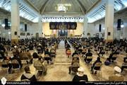 مراسم چهلم آیت الله یزدی در حرم حضرت معصومه (س) برگزار شد