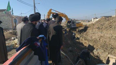 بازدید نماینده ولیفقیه در استان خوزستان از پروژههای محرومیتزدایی اهواز