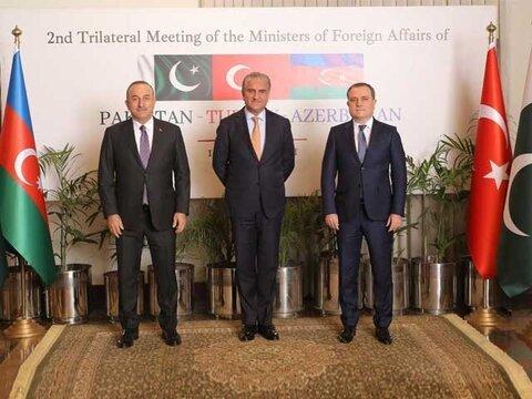 پاکستان، ترکی اور آذر بائیجان کا دہشت گردی کے خلاف مشترکہ حکمت عملی اپنانے پر اتفاق