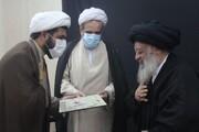 آیین تقدیر از گروه جهادی مدرسه علمیه بقیةالله(ع) اندیمشک برگزار شد