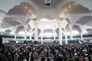 تصاویر / اقامه نماز جمعه قم بعد از ۲۴ هفته