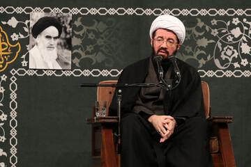 فیلم | سخنرانی حجتالاسلام والمسلمین عالی در حضور رهبر انقلاب