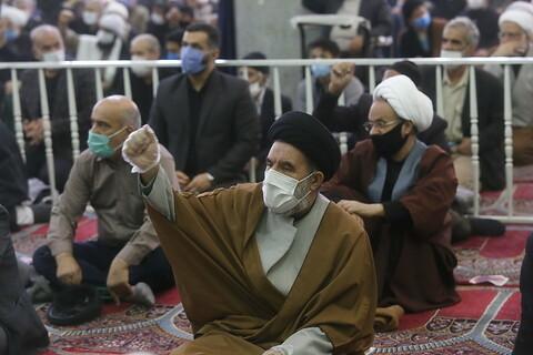تصاویر / برگزاری اقامه نمازجمعه قم بعد از 24 هفته
