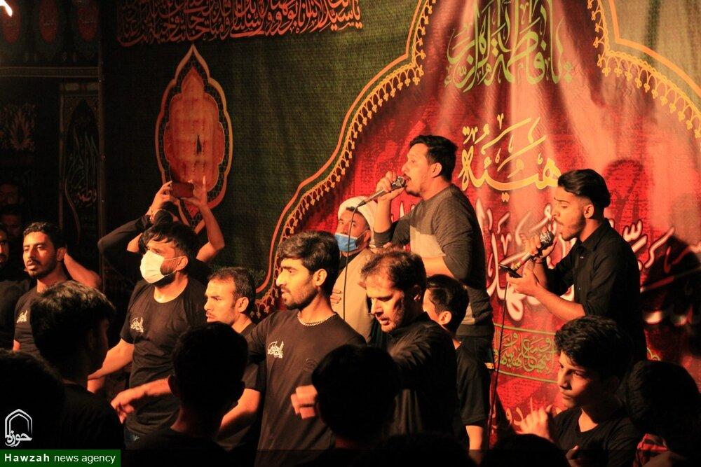 تصاویر/ قم میں ہیئت سید الشہداء کے زیر اہتمام ایام فاطمیہ کے سلسلے کی پہلی مجلس عزاء کی تصویری جھلکیاں