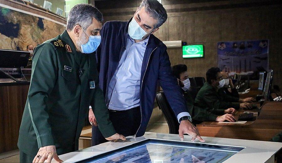 فیلم | بدون تعارف با سردار حاجی زاده یک سال پس از حمله موشکی سپاه به عین الاسد