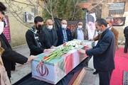 اعضای ستاد امر به معروف فارس با پیکر شهید گمنام وداع کردند