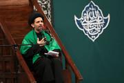 فیلم | مداحی حجتالاسلام سیدبهاءالدین ضیایی در حضور رهبر انقلاب