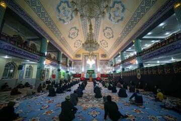 تصاویر/ مراسم عزاداری شهادت حضرت فاطمه زهرا(س) در دارالعباده یزد