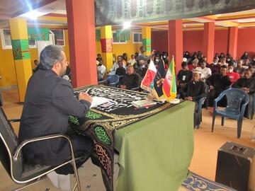 تصاویر/ برگزاری مراسم فاطمیه در ماداگاسکار