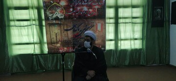 برگزاری مراسم شهادت حضرت فاطمه(س) در مدرسه علمیه المهدی(عج) سراب