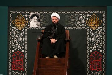 فیلم | سخنرانی حجتالاسلام والمسلمین عالی در شب شهادت حضرت زهرا(س) در حضور رهبر معظم انقلاب