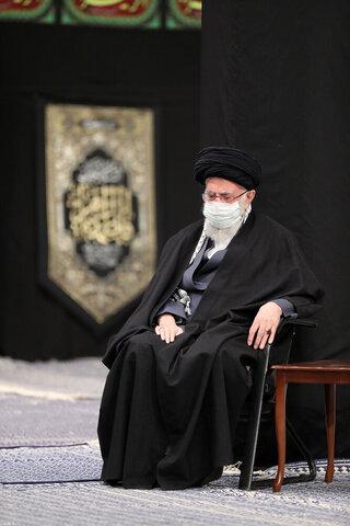 بالصور/ مجلس عزاء الليلة الأولى والثانية من الليالي الفاطميّة لعام 1442 بمشاركة الإمام الخامنئي