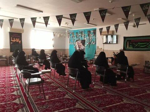 بزرگداشت مقام والای آیت الله مصباح یزدی  در حوزه خواهران اردکان