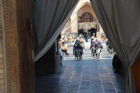 تصاویر / مراسم سوگواری حضرت فاطمه زهرا (س) از سوی امام جمعه قزوین
