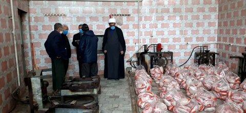 تصاویر/توزیع احسان حضرت زهرا سلام الله علیها بیش ۱۷۰میلیون ریال    تهیه ۵۷۰عدد مرغ درمیان  اهالی محترم توپ آغاج