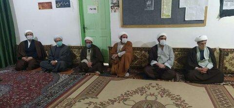 تصاویر /  مراسم شهادت حضرت فاطمه(س) در مدرسه علمیه المهدی(عج) سراب