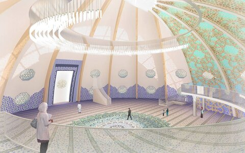 مسلمانان در تاتارستان روسیه مسجد جدیدی بنا میکنند