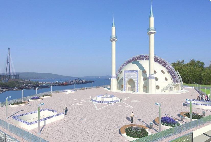 مسلمانان در تاتارستان روسیه مسجد جدیدی بنا میکنند + تصاویر