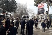 تصاویر/ مراسم عزاداری شهادت حضرت زهرا(س) در شهرستان هرسین