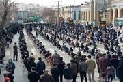 تصاویر/ اجتماع عزاداران فاطمی شهرستان کرمانشاه