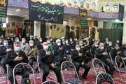 تصاویر/ مراسم عزاداری شهادت حضرت زهرا(س) در همدان