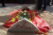 تشییع چهار شهید گمنام در استان یزد + فیلم
