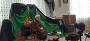 اقامه عزای فاطمی در مدرسه علمیه الزهرا(س) تبریز