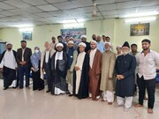 Iran Consul General in Hyderabad visited the seminary in the old city