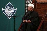 فیلم | مداحی حجتالاسلام شحیطاط در حضور رهبر معظم انقلاب