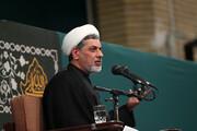 فیلم | سخنرانی حجتالاسلام والمسلمین رفیعی شام شهادت حضرت زهرا(س) در حضور رهبر معظم انقلاب
